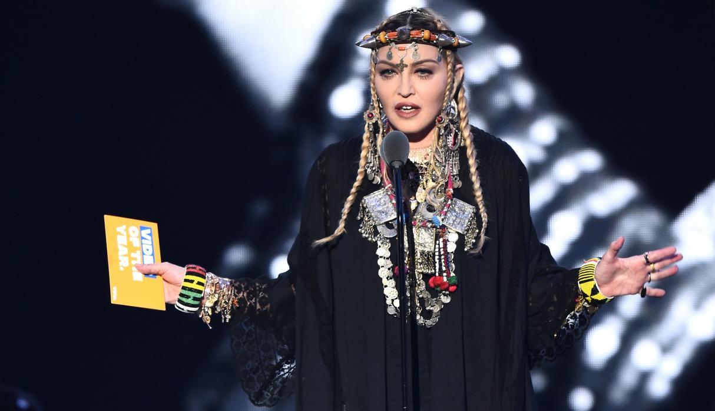 Photo of Madonna rindió tributo a Aretha Franklin en los premios MTV Video Music Awards