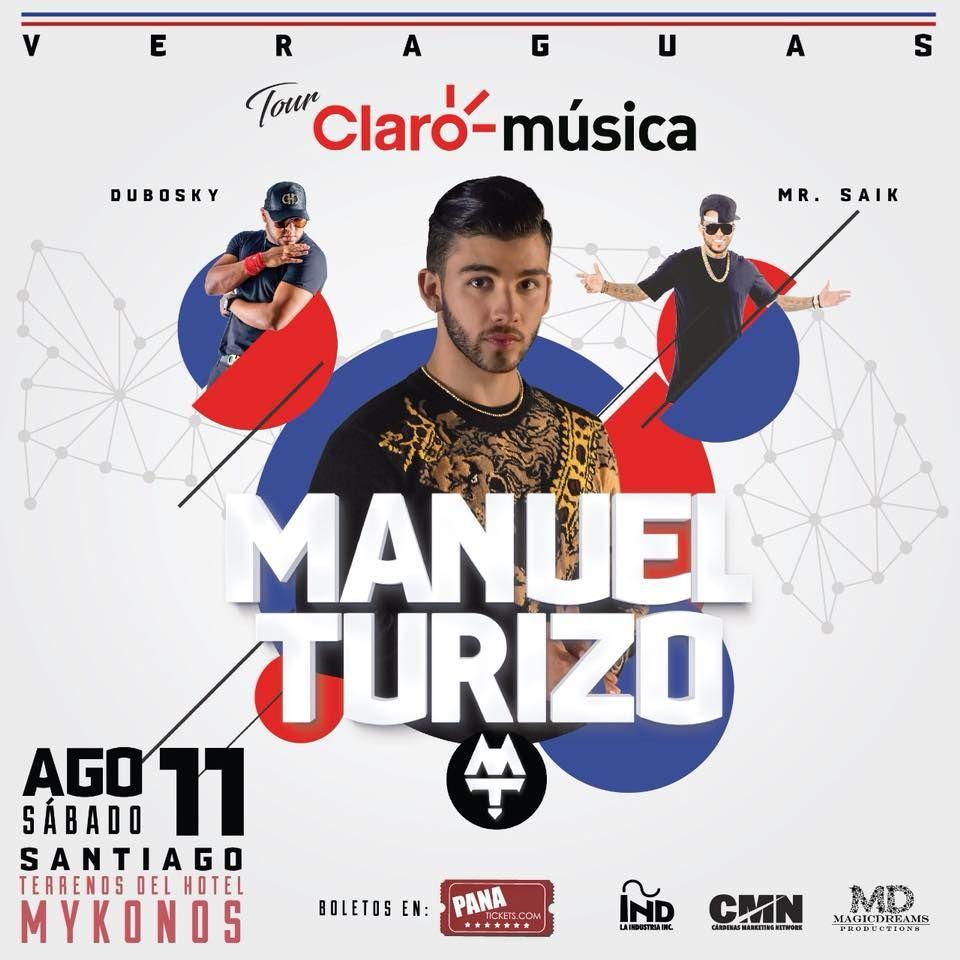 Photo of Esta noche Manuel Turizo en Panamá