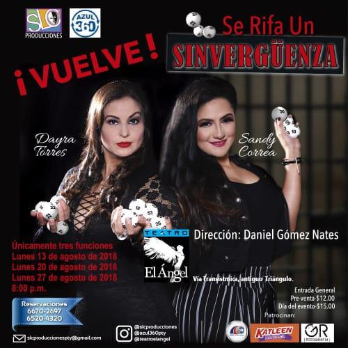 Photo of Regresa la obra 'Se Rifa un Sinverguenza'