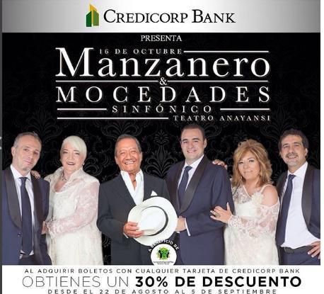Photo of 30% de descuento para el concierto de Armando Manzanero y Mocedades Sinfónico en Panamá