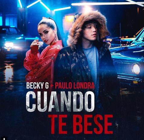 Photo of Becky G junto con Paulo Londra estrenan tema 'Cuando te besé'