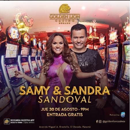Photo of Samy y Sandra Sandoval en Golden Lion