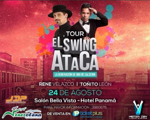 Photo of Concierto de» El Tour de Swing Ataca» en Panamá