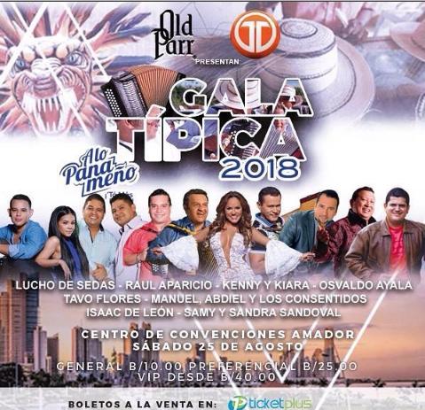 Photo of Esta noche Gala Típica a lo Panameño 2018