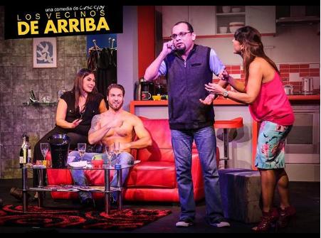 Photo of Teatro La Estación la obra 'Los Vecinos de Arriba'