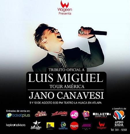 Photo of Esta noche Tributo oficial a Luis Miguel en un show con Jano Canavesi