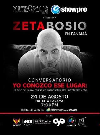 Photo of Zeta Bosio llega a Panamá