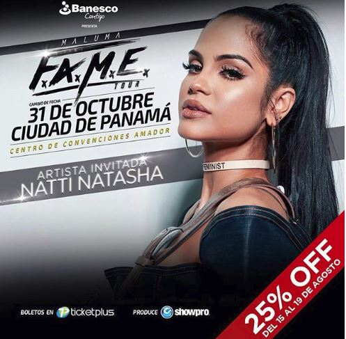 Photo of Oferta especial para los boletos del concierto de Maluma en Panamá