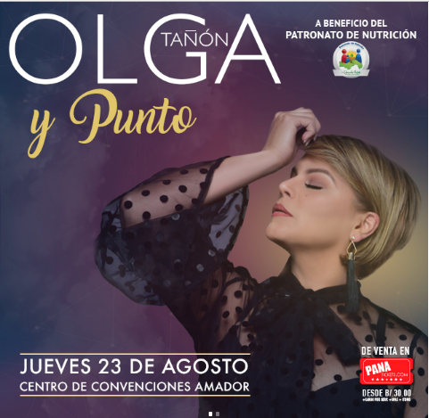 Photo of Olga Tañon en Panamá