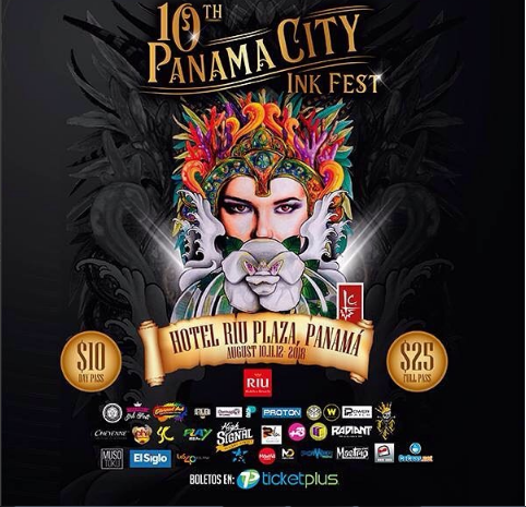 Photo of A solo 3 días para Tuconcierto en 'Panama City Ink Fest 2018'
