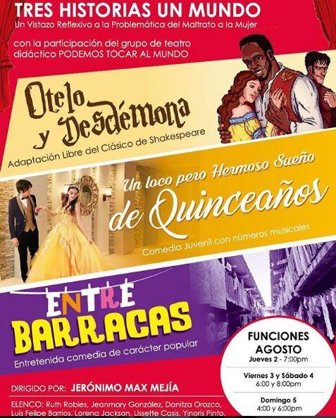 Photo of Tres Historias, Un Mundo en Teatro el Ángel