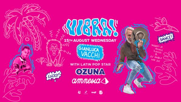 Photo of Ozuna actúa en Amnesia Ibiza