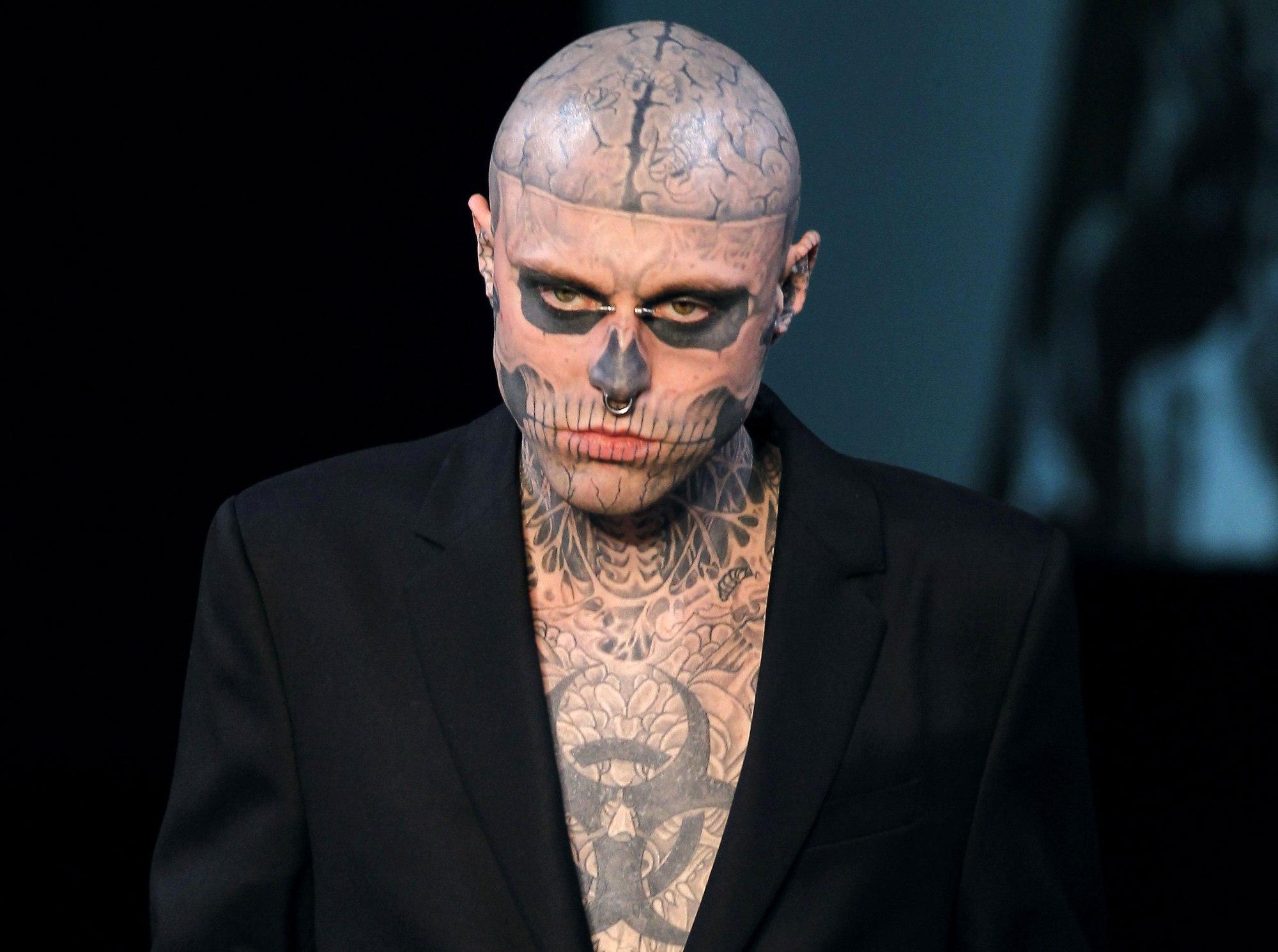"""Photo of Fallece Rick Genest mejor conocido como """"Zombie Boy"""""""