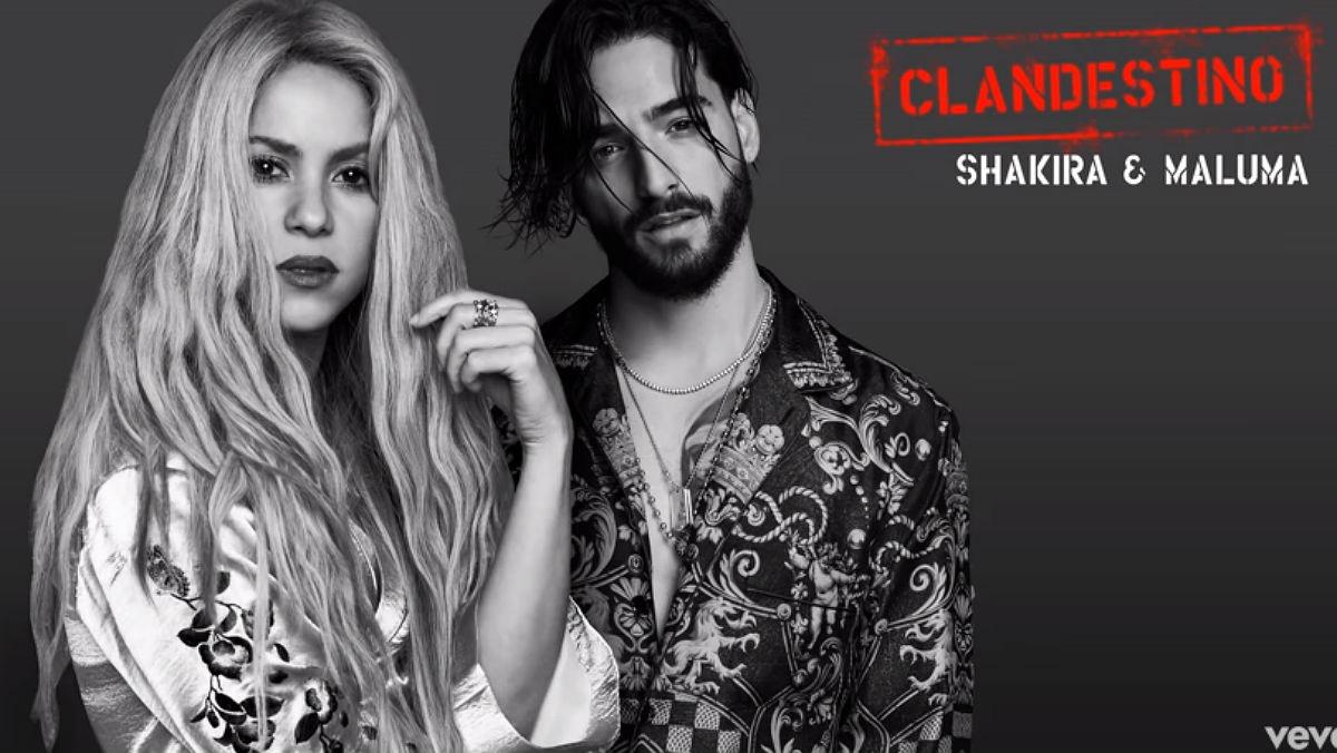 Photo of Shakira y Maluma en lo más alto