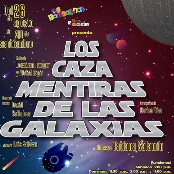 Photo of Fin de semana de teatro con'Los Cazamentiras de Las Galaxias'