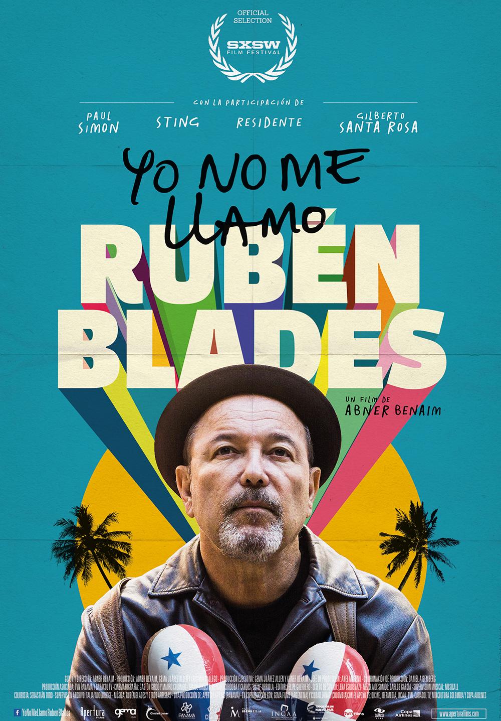 Photo of Estreno en Cinemark de 'Yo no me llamo Rubén Blades'