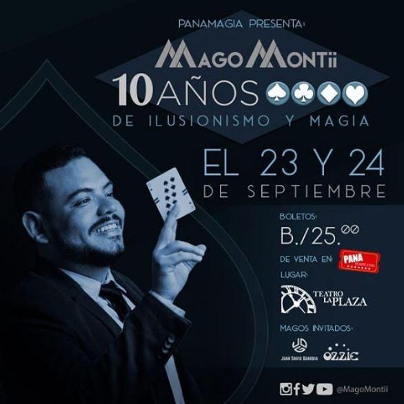 Photo of Panamagia presenta 'Mago Montii'