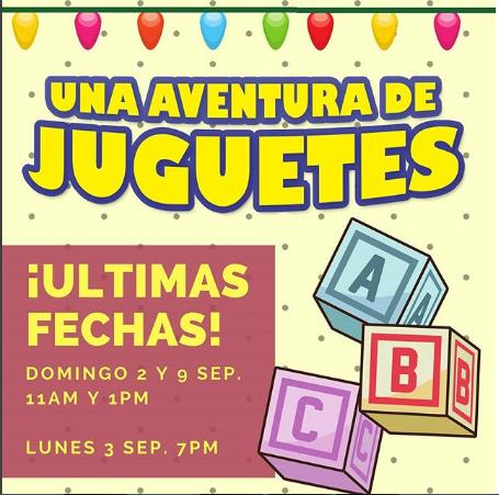 Photo of Últimas 2 funciones de la obra infantil 'Una aventura de juguetes'