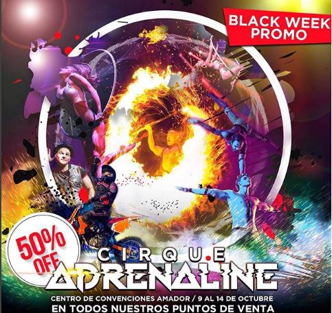 """Photo of Entradas al 50% de descuento para el """"Cirque Adrenaline"""""""