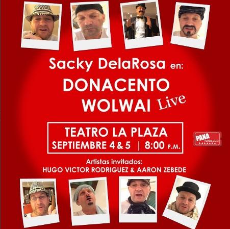 Photo of Esta noche Stand up Comedy Show de 'Sacky DelaRosa' en Panamá