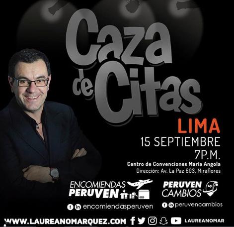 Photo of 50% de descuento en todos los boletos para 'Caza de Citas' de Laureano Marquez