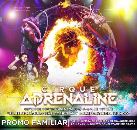 """Photo of Promoción en boletos para el """"Cirque Adrenaline"""""""