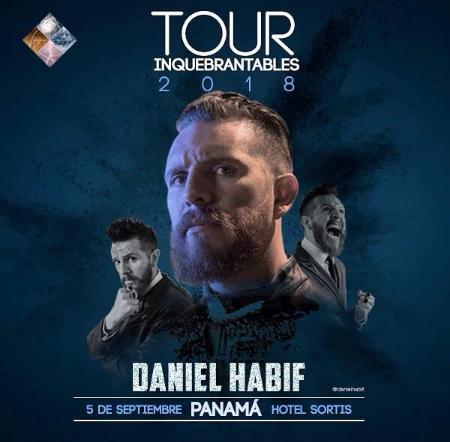 "Photo of Esta noche Daniel Habif con su ""Tour Inquebrantable 2018"""