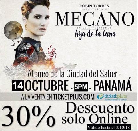 Photo of Descuento al 30% para el concierto de Robin Torres en Panamá