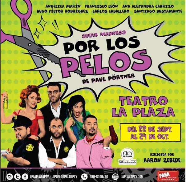 Photo of Llega a Panamá la comedia ¡»Por Los Pelos»