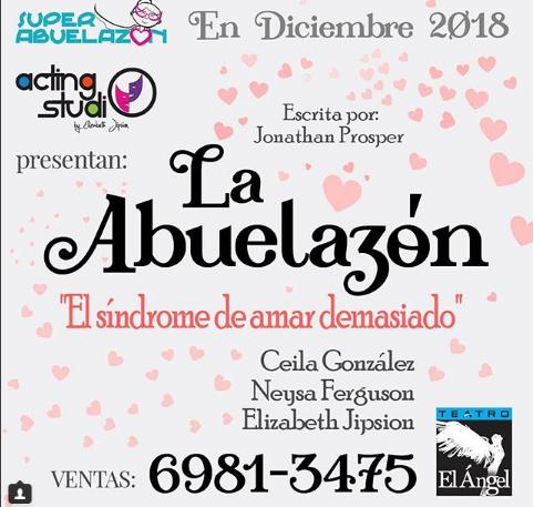 Photo of Obra La Abuelazón «El síndrome de amar demasiado»
