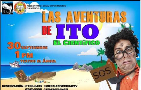 """Photo of Mañana estreno de Las Aventuras de ITO """"El Cientifíco"""""""