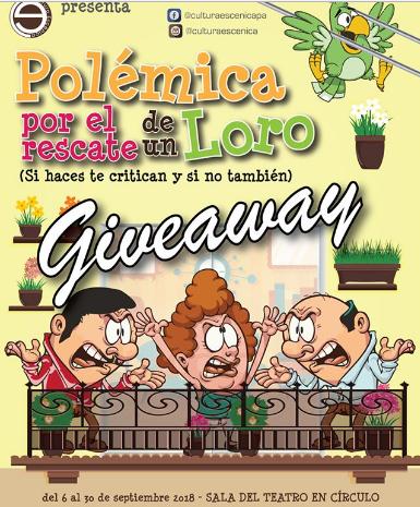 Photo of Obra «Polémica por el Rescate de un Loro»
