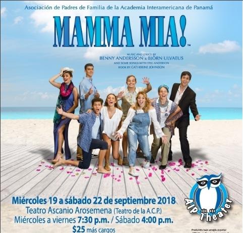 Photo of El musical MAMMA MIA!! en Panamá