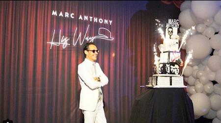 Photo of Marc Anthony celebró su cumpleaños 50 por todo lo alto