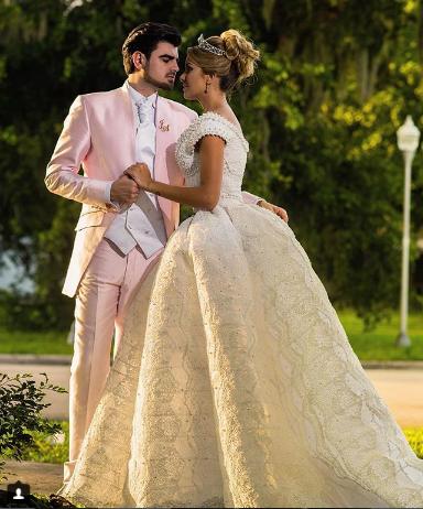 Photo of Jonathan Moly y Andrea Villarroel se casaron