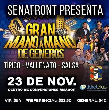 Photo of En Panamá «Gran Mano a Mano de géneros»