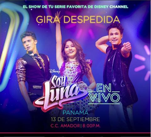 """Photo of Llego el gran día para el concierto de """"Soy Luna"""" en Panamá"""
