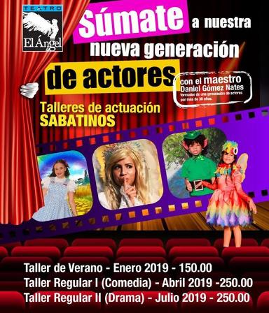 Photo of 'Talleres de actuación sabatinos' en Teatro el Ángel