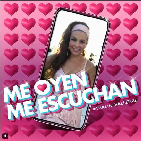 Photo of Thalía estrena «Me oyen, me escuchan»