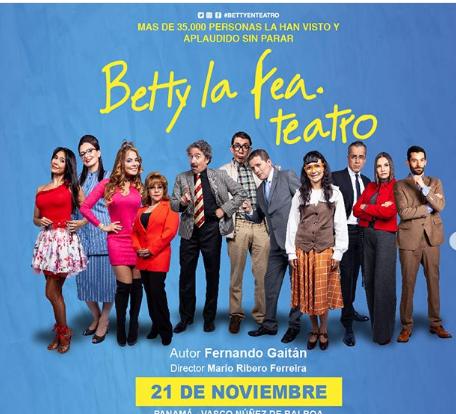 Photo of Llega a Panamá la obra «Betty La Fea»