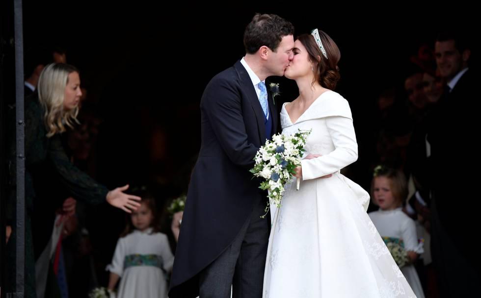 Photo of La princesa Eugenie de York celebra su boda con Jack Brooksbank