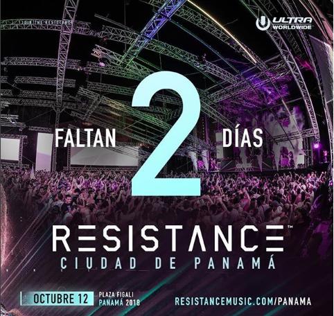 Photo of A solo 2 días para «Resistance» en Panamá