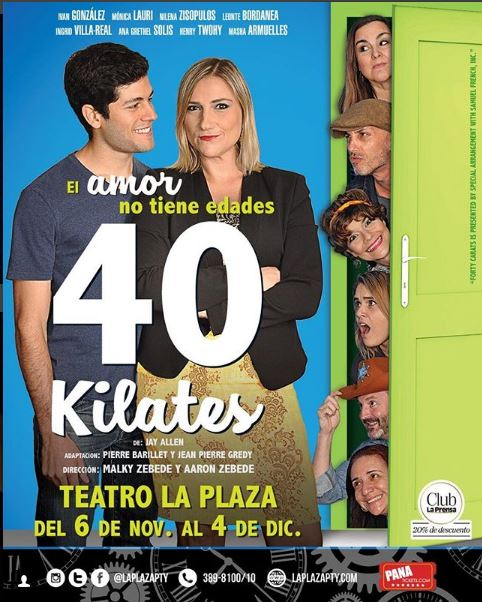Photo of Teatro la Plaza presenta '40 Kilates'