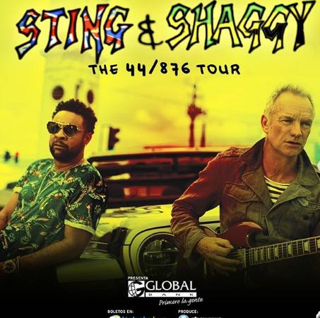 """Photo of Esta noche concierto de """"Sting & Shaggy"""" Panamá"""