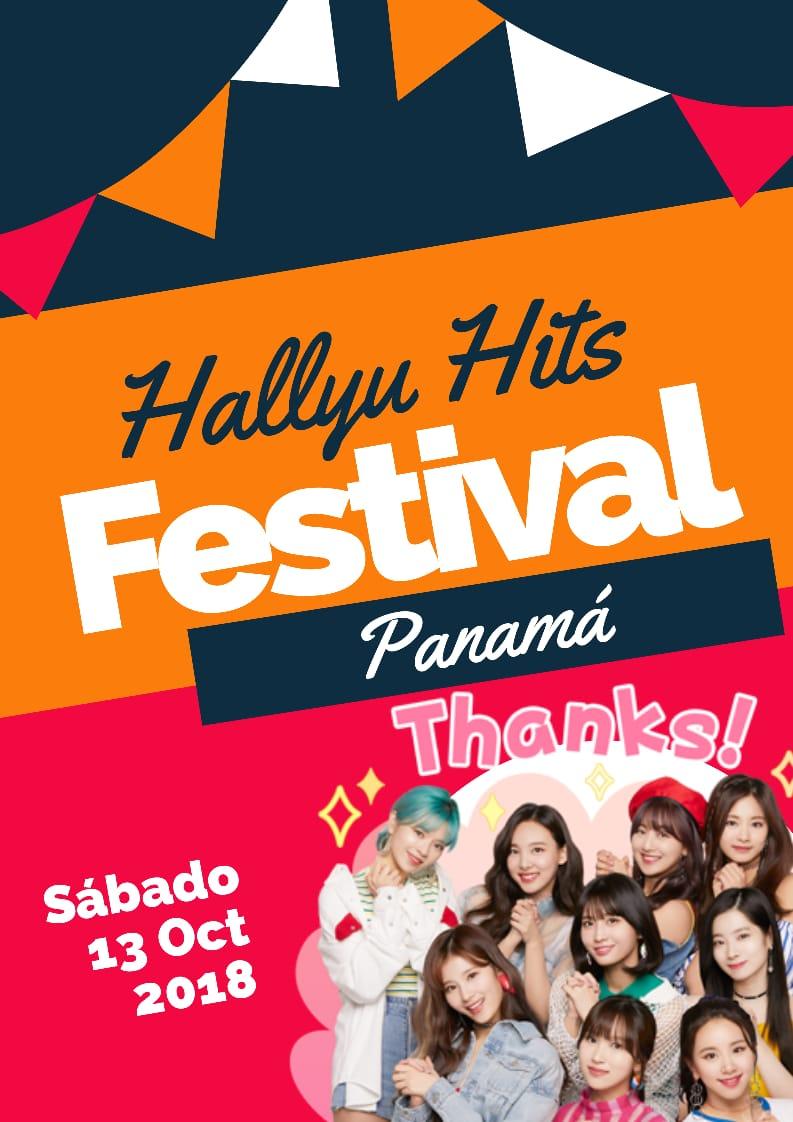 Photo of «Hallyu Hits Festival» Panamá 2018