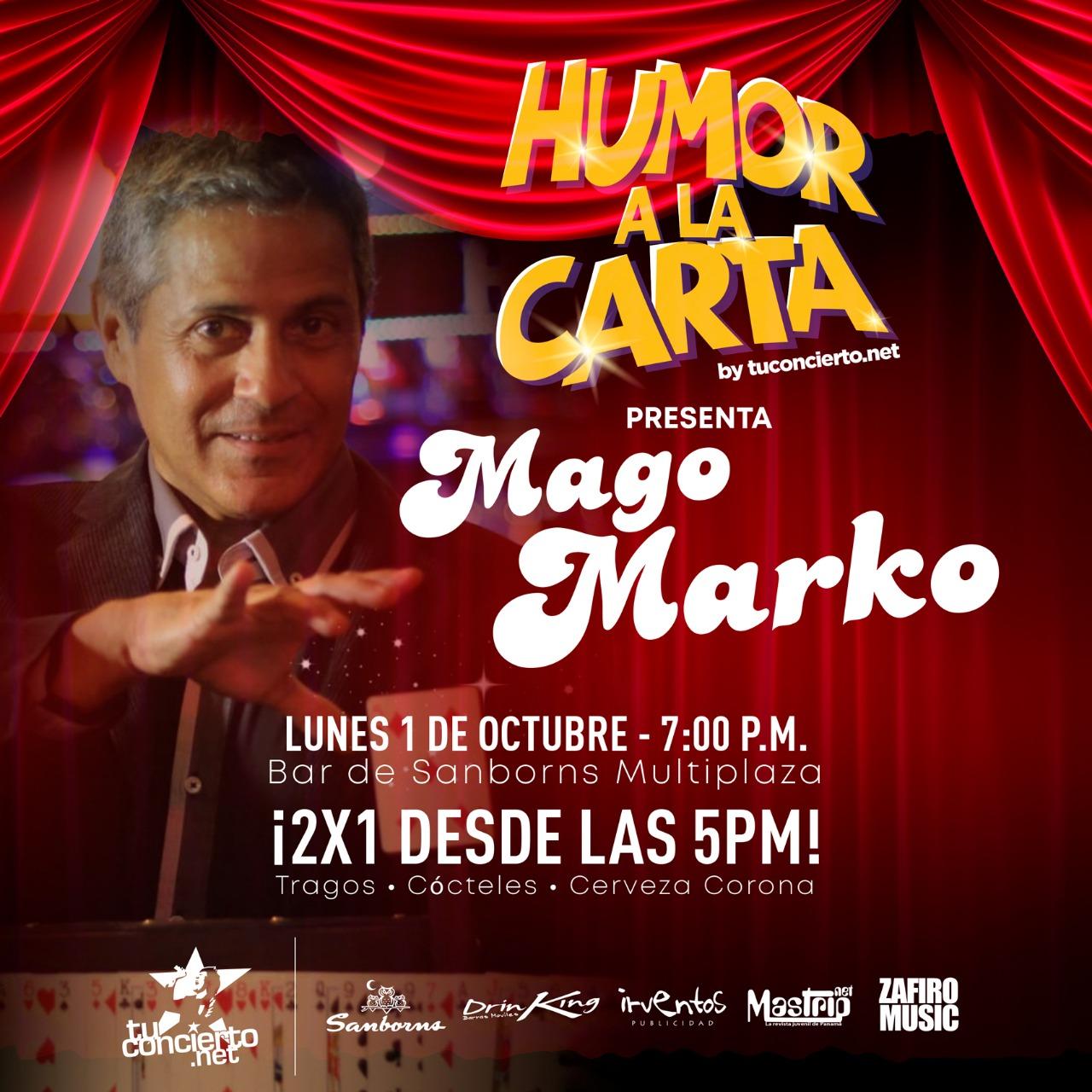 Photo of Esta noche Humor a la Carta by @tuconcierto presenta Mago Marko