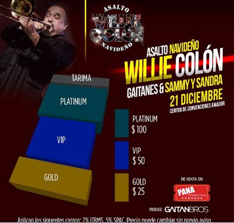 Photo of Willie Colón en concierto
