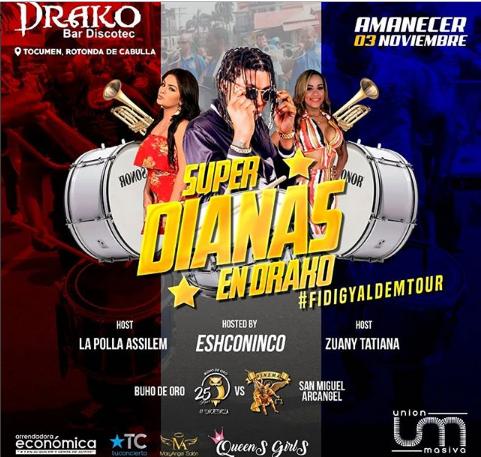 Photo of La Súper Dianas en Drako en Panamá