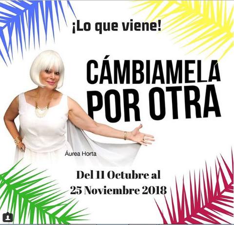 Photo of Obra «Cámbiamela por otra»