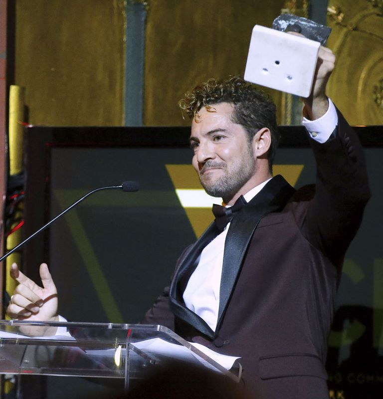 Photo of David Bisbal recibe el galardón New York Summit